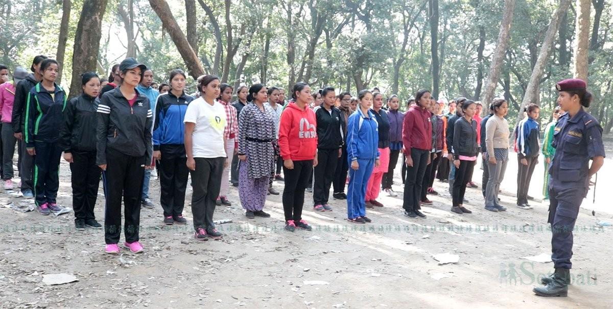 प्रदेश दुईमा ५० प्रतिशत महिला प्रहरी नियुक्त गरिने