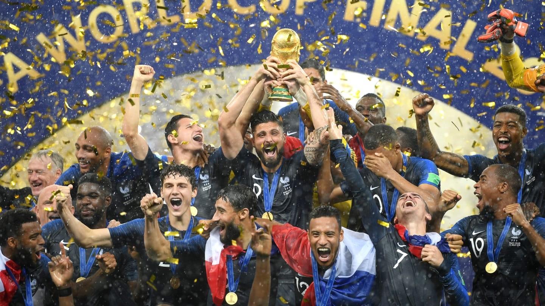 फ्रान्सलाई २० वर्षपछि दोस्रो पटक विश्वकप उपाधि