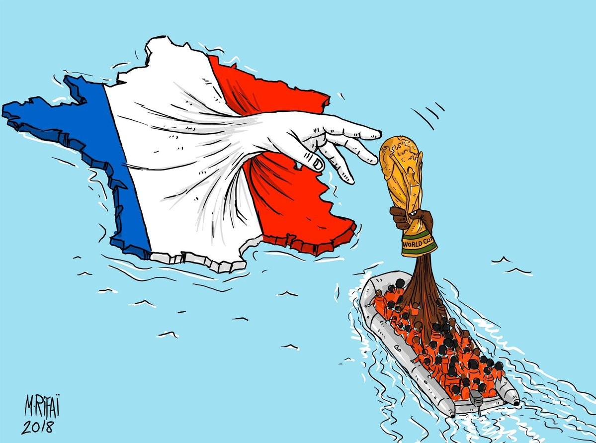 जोर्डनी कार्टुनिष्ट  मोहम्मद रिफाईको फेसबुकबाट साभार।