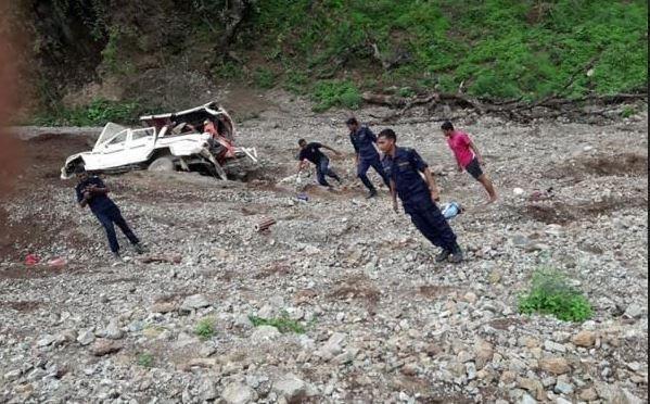 रुकुम पूर्वमा जीप दुर्घटना : मृतकको संख्या ७ पुग्यो, ४  घाइते (अपडेट)