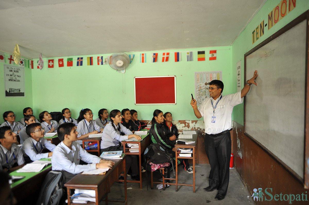 ६० हजार शिक्षक दरबन्दी थप्न सुझाव
