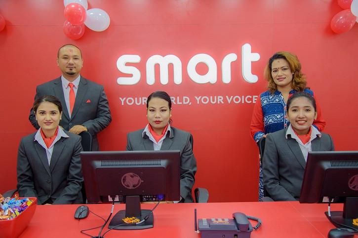 Smart Telecom's new customer center in Newroad