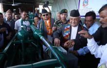 तस्बिरः प्रधानमन्त्री केपी ओलीको ट्विटर @PM_Nepal बाट