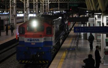 उत्तर कोरियाका लागि दक्षिण कोरियाबाट रेल सेवा सञ्चालनमा