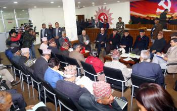 नेकपा स्थायी समितिमा भीम रावलका प्रश्नै-प्रश्न