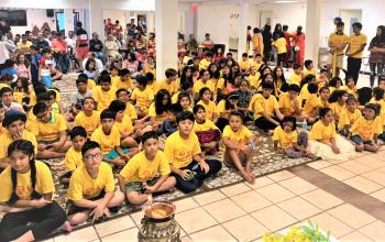 अमेरिकाको डालसमा नेपाली बालबालिकाका लागि आध्यात्मिक शिविर सुरु