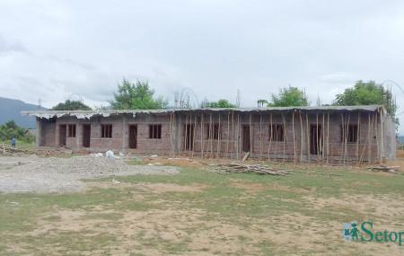 निर्माणाधीन भवन। तस्बिर: नारायण/सेतोपाटी