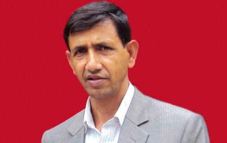 विप्लव नेतृत्वका नेकपा पोलिटब्युरो सदस्य अनिल शर्मा बिरही।