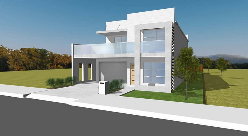 Precast concrete residential homes